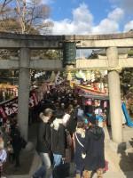 2018初詣風景 茨木神社