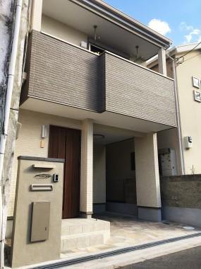 茨木市本町 新築注文住宅イメージ