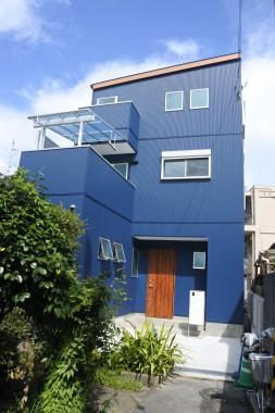 茨木市内 新築工事イメージ