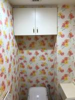 マンショントイレ クロス アフター2