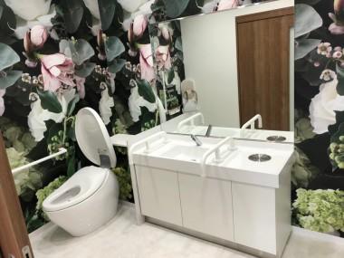 ホンダカーズ北河内東大阪中野店・トイレ改修工事イメージ